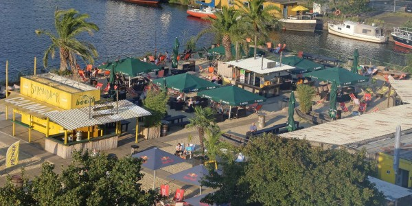 Der ehemalige Beachclub in Harburg
